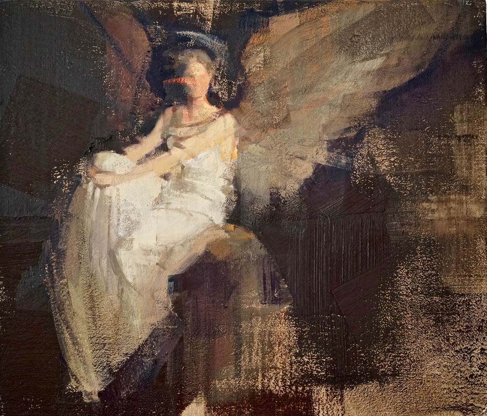 Angel Chill | 60x70cm | 2016