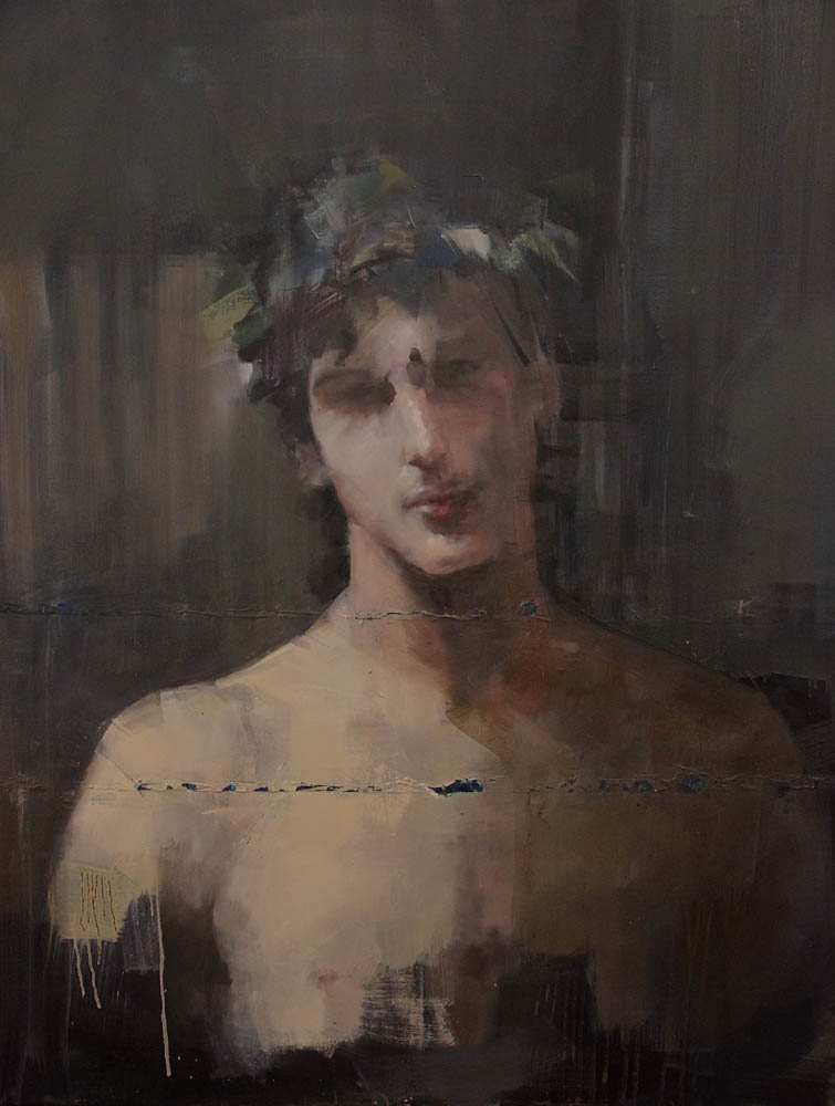 Saint Sebastien, after John Singer Sargent | 100x80cm | 2015