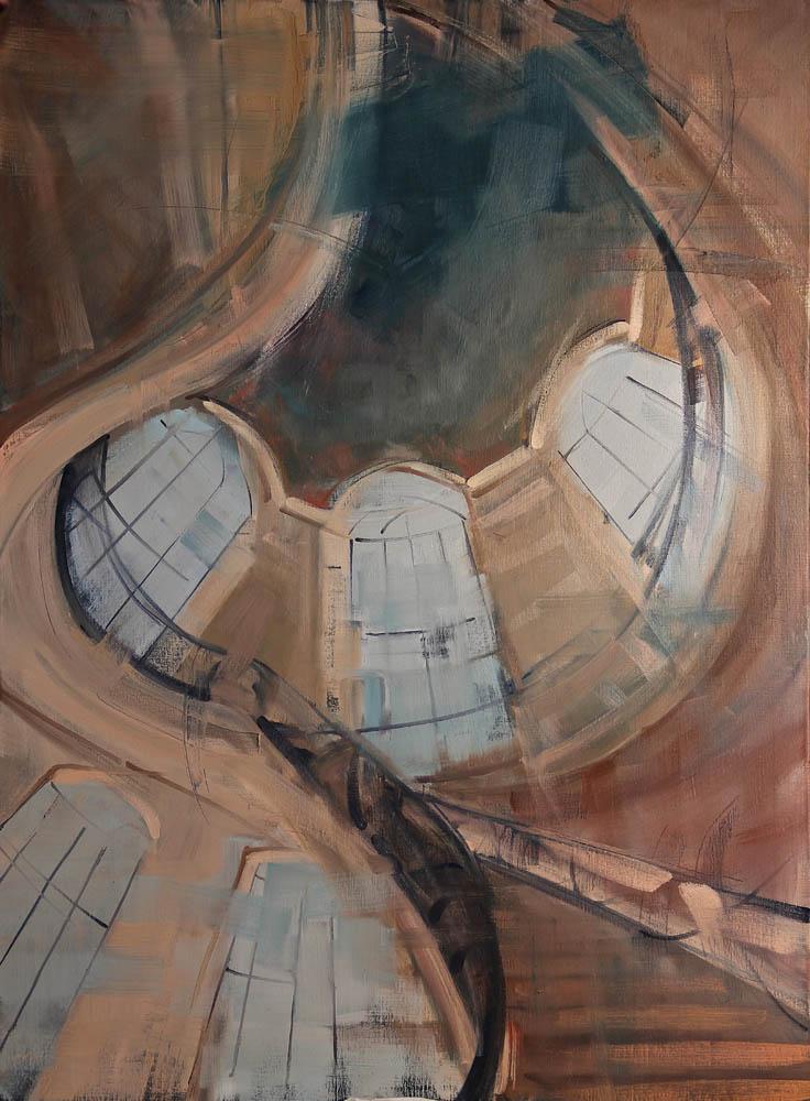 Rome Interieur | 130x97cm | huile sur toile